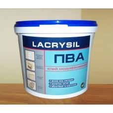 Клей ПВА модифікований водно-дисперсійний,LACRYSIL, 4,5 кг