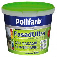 Фарба Фасад ультра Поліфарб 14 кг.