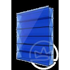 Полікарбонат сотовий Soton Титан синій, 10 мм
