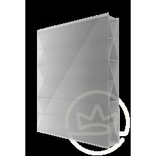 Полікарбонат сотовий Soton Титан срібло, 10 мм