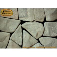 Камінь Рельєфний окатаний, сірий, 30мм