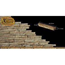 Камінь Фасадно-стінова нарізка, облегшена, 30мм
