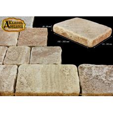 Камінь Староанглійський тротуарний окатаний, 40-60мм