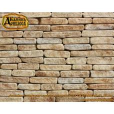 Камінь Фасадно-стінова нарізка окатана, 40мм