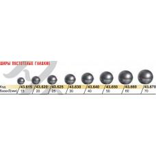 Шар пустотілий гладкий (куля), діаметр 25мм