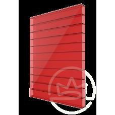 Полікарбонат сотовий Soton червоний, 4 мм