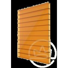 Полікарбонат сотовий Soton оранжевий, 4 мм