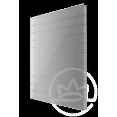 Полікарбонат сотовий Soton срібло, 4 мм