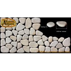 Камінь Галька мілка діам. 3-5см, товщина 15-20мм