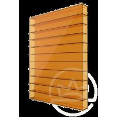 Полікарбонат сотовий Soton оранжевий, 6 мм