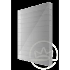 Полікарбонат сотовий Soton срібло, 6 мм