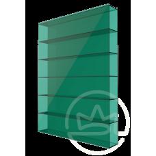 Полікарбонат сотовий Soton зелений, 8 мм