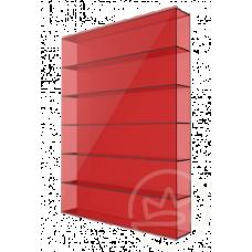 Полікарбонат сотовий Soton червоний, 8 мм