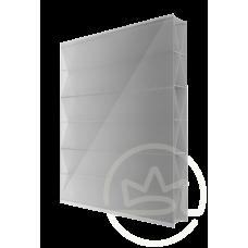 Полікарбонат сотовий Solidprof титан срібло, 8 мм