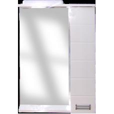 Дзеркало Z-1 105см Квадро, біле, шкавчик з двох боків