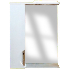 Дзеркало Z-1 105см Дельфін, біле, шкавчик з двох боків