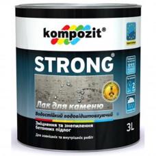 Лак для каменю STRONG, 3л
