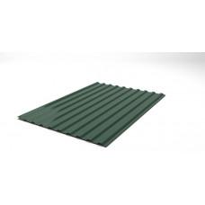Профнастил зелений НС-14, висота 2м